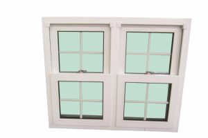PVC Double Glazed Double Hung Window pictures & photos