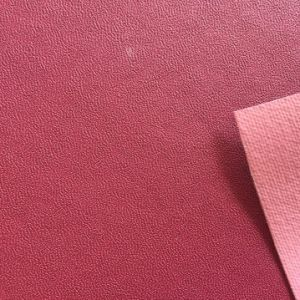 Anti Slip Grain Synthetic PU Leather for Shoes Lining Hx-L1705 pictures & photos