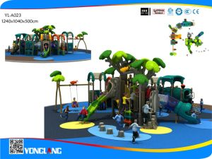 2017 New Tunnel Slide Children Outdoor Plastic Playground (YL-A023) pictures & photos