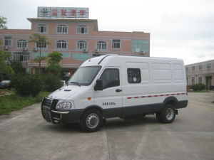 4*2, Diesel Type, Armored Iveco Cash in Transit Van, Armored Vehicle / (TBL5041XYCF3)