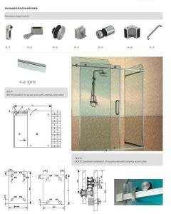 Sliding Door system Fittings pictures & photos