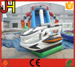 Giant Alien Inflatable Water Slide with Pool for Kids pictures & photos