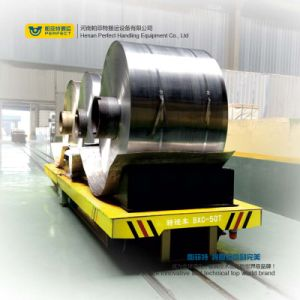 Electric Coil Trolley Heavy Cargo Transport Vehicle for Steel Factory pictures & photos
