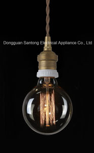 Clear Glass Light Bulbs G25/G80 Antique / Vintage Thomas Edison Style Filament