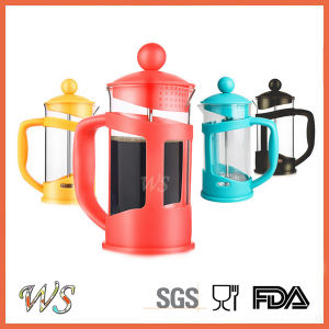 Wschxx028 Hot Sell Plastic French Press Coffee Maker Stainless Steel Coffee Press pictures & photos