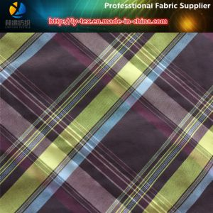 Polyester/Nylon Blended Yarn Dyed Check Shirt Fabric pictures & photos