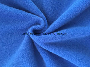 100% Polyester DTY150d144f Mirco Fleece pictures & photos