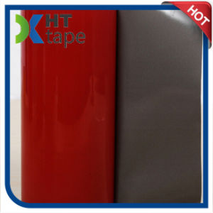 Red Film Grey Acrylic PE Foam Tape pictures & photos