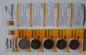 High Quality Button Cell Cr2430 pictures & photos