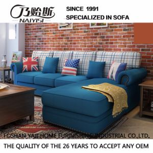 American Country Style Leisure Fabric Sofa for Home Furniture M3004 pictures & photos