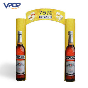 Products Promotion Cardboard Totem Display Stand for Advertising pictures & photos