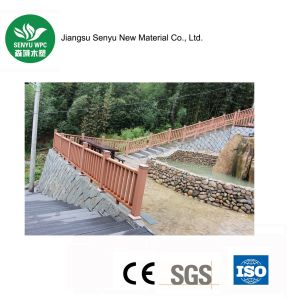Wood Plastic Composite Landscape Railing pictures & photos