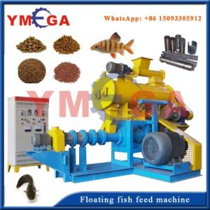 China Wet Type Floating Fish Feed Machine Price pictures & photos