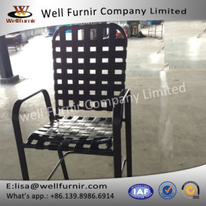 Well Furnir 2017 New Cross Strap Chair with Armrest pictures & photos