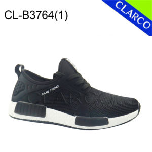 Casual Men Sports Sneaker Shoes with TPR Sole pictures & photos