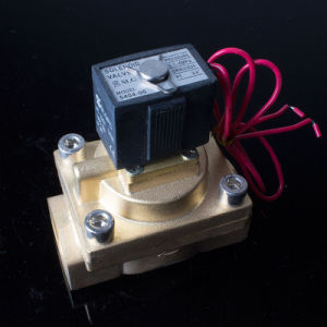 "China Ningbo Low Cost 1/2"" Vx2120-15 12V Water Solenoid Valve pictures & photos"