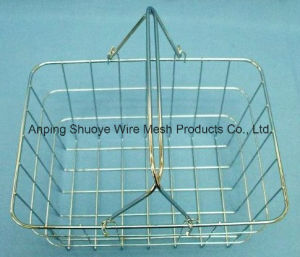 Steel Wire Fruit Vegetable Storage Baskets pictures & photos