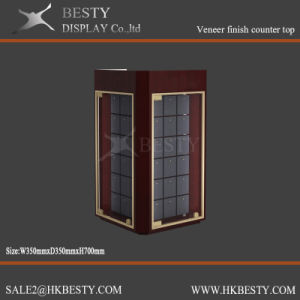 Customized Rotating jewelry Display Counter Case pictures & photos