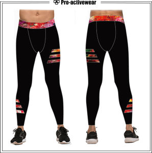 Anti-UV Comfortable Gym Fashionable Underwear Elastic Tights pictures & photos