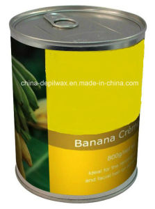 800g Can Soft Depilatory Wax Banana Creme Wax pictures & photos