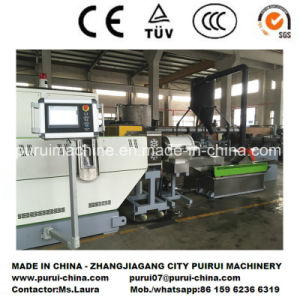 Single Screw Plastic Recycling Machine with PLC for 2017 Chinaplas Exhition pictures & photos