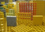 Mini Mesh///FRP///GRP Molded Grating//Walkway Grating /Fiberglass pictures & photos