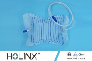 Sterile Ordinary Adult 1000ml 2000ml Disposable PVC Male Urine Bag pictures & photos