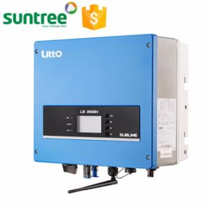 on Grid Tie Solar System Pure Sine Wave Inverter 5000W 10kw 15kw 20kw 30kw WiFi Function Solar Inverter with MPPT pictures & photos