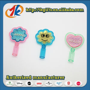 China Factory Cheap Toy Plastic Heart Shape Pencil Topper for Kids pictures & photos