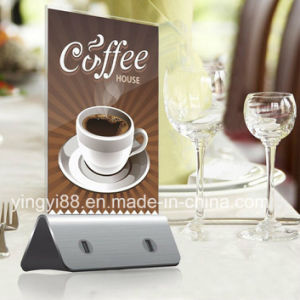 Newest Acrylic Menu Holder Advertising Display Stand pictures & photos