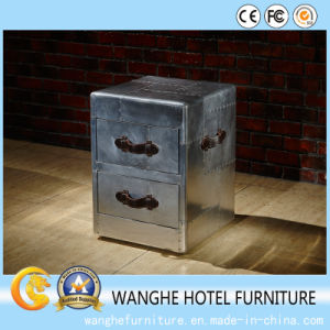Mufti-Functional Silver Metal Coffee Table for Hotel Furniture pictures & photos