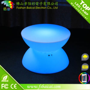Event Acrylic LED Bar Cocktail Table for Nightclub