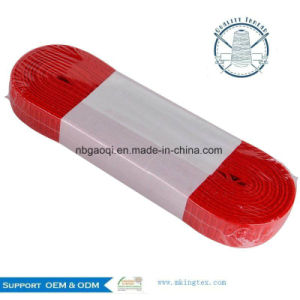 Knitting Webbing Hole Elastic Tape Hot Salelong Large Wide Flat Button pictures & photos
