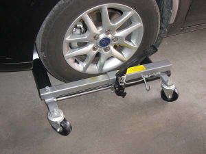 13 Inch Vehicle Positioning Jack (ZW1509G) Lift Jack pictures & photos