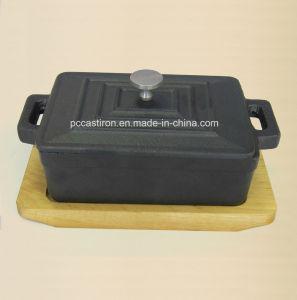 Preseaseond Cast Iron Mini Sauce Pot Size 12.5X9X4.5cm pictures & photos