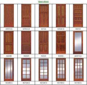 CE ISO Certificated Interior Wooden Doors (wooden doors) pictures & photos