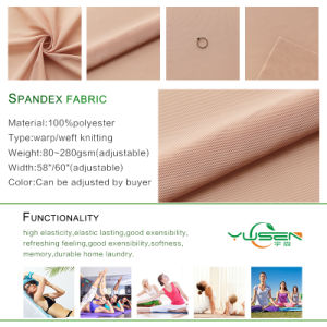 Soft Elastic Poly Spandex Fabric pictures & photos