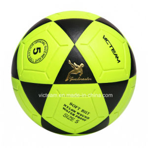 Bright Colored Waterproof Fluorescent Soccer Ball pictures & photos