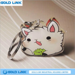 Custom Acrylic Key Ring Cute Cartoon Key Holder Promotion Keychain pictures & photos