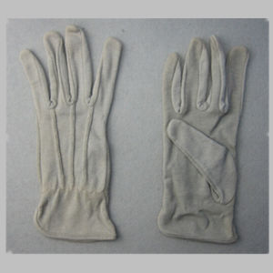 Grey Light Weight Cotton Work Glove pictures & photos