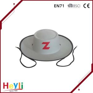 Hot Sale High Quality White Zorro Hat for Party Accessories pictures & photos