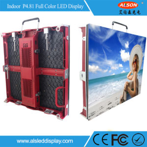 SMD Full Color P4.81 Indoor Rental LED Sign pictures & photos