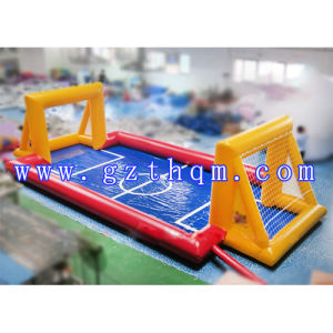 Inflatable Water Football Field Inflatable Soap Soccer Field Inflatable Soccr Pitch Inflatable Football Pitch for Play pictures & photos