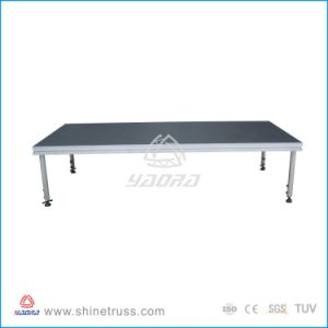 2015 Hot Sell TV Broadcast DJ Aluminum Portable Lighting Stage pictures & photos