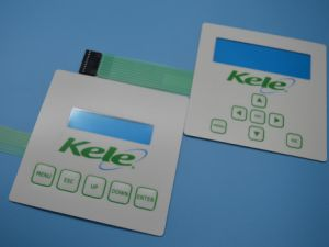 Electrical Membrane Switch with Silk Screen Printing Grpahic Overlay pictures & photos