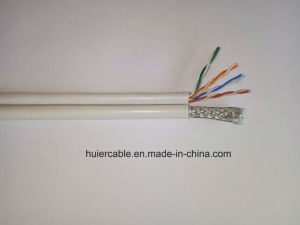 CCTV video Cable with 2 Power Wires for IP Camera pictures & photos