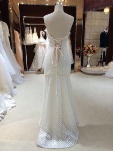 Mermaid/Trumpet Lace Boho Wedding Dress with Bolero pictures & photos