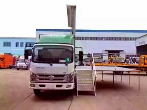 Forland Popular Outdoor Display TV Showing LED Advertising Truck pictures & photos