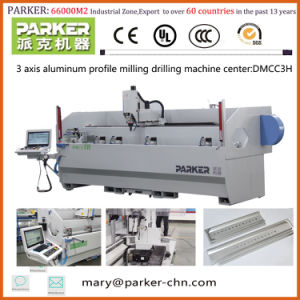Aluminum Machining Center 3 Axis CNC Drilling Milling Machine pictures & photos