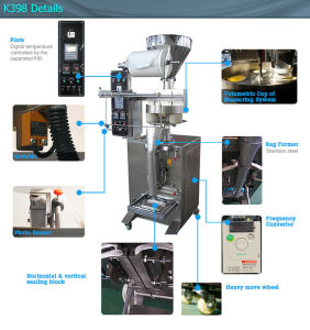 Factory Price Automatic Coffee Beans Loose Tea Packing Machine pictures & photos